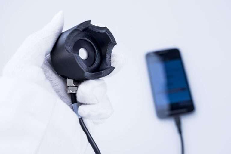 Miernik mocy i efektywności promieniowania UVC UVpro Lampchecker (5)