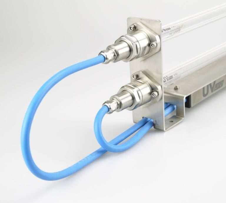 Promienniki do agregatów chłodniczych serii LKE UVpro dezynfekcja i sterylizacja powietrza (3)