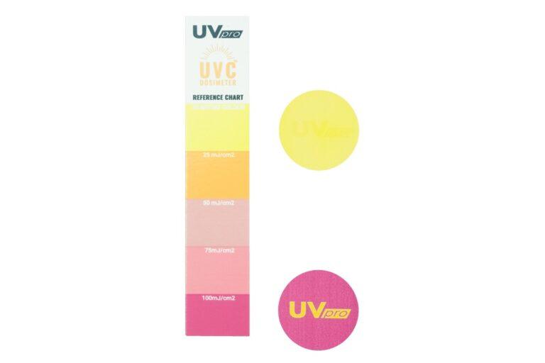 Test ekspozycji na promieniowanie UVC UVpro Dosimeter (1)