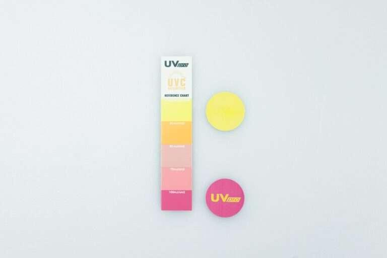 Test ekspozycji na promieniowanie UVC UVpro Dosimeter (2)